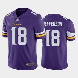 Minnesota Vikings Justin Jefferson Purple Jersey